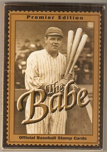 Babe Ruth Baseball Card Stamps