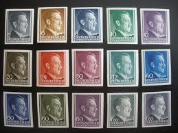 Hitler Head Stamps