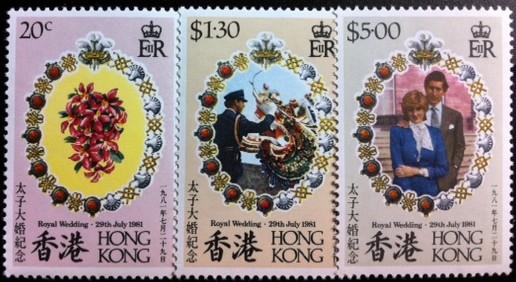 Hong Kong #373-75