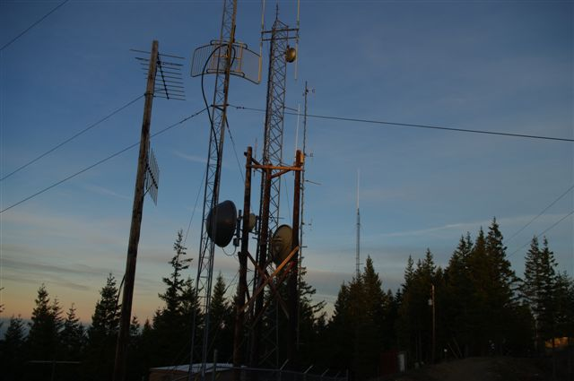 Our Towers on Grizzly Mtn.