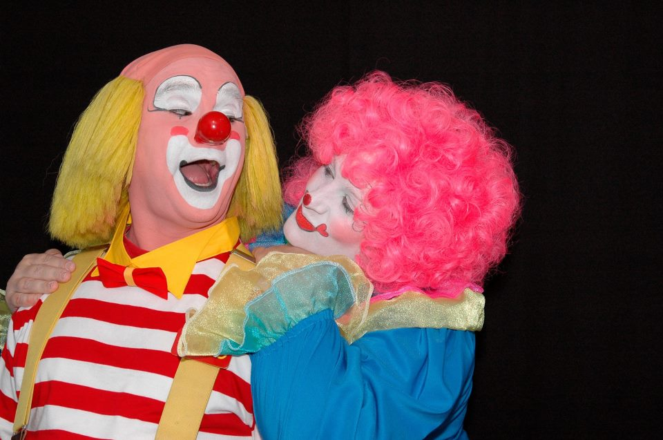 Home page for Face painting clowns for birthday parties