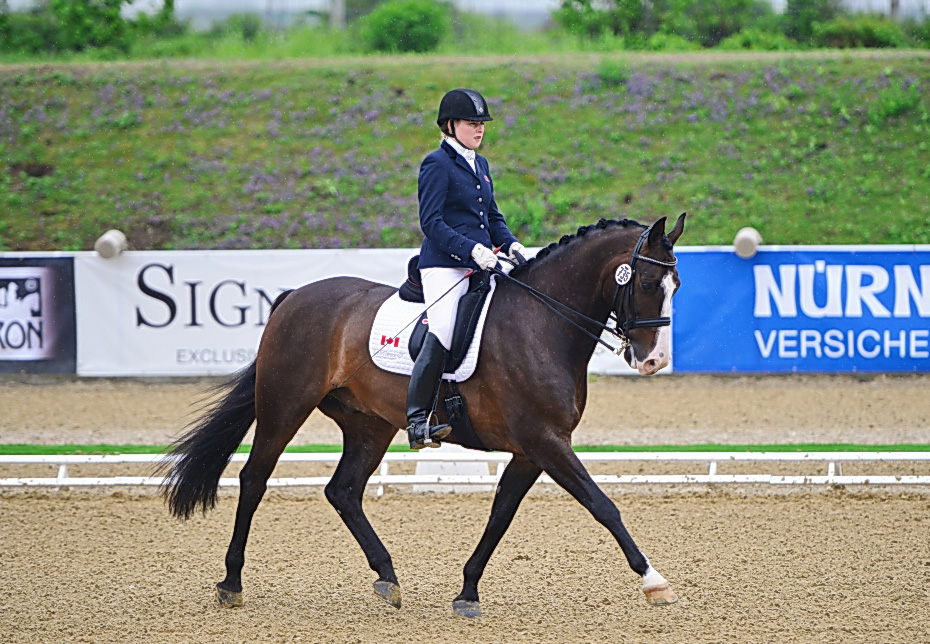 Bert Sheffield Competes In Europe for Team Equine Canada