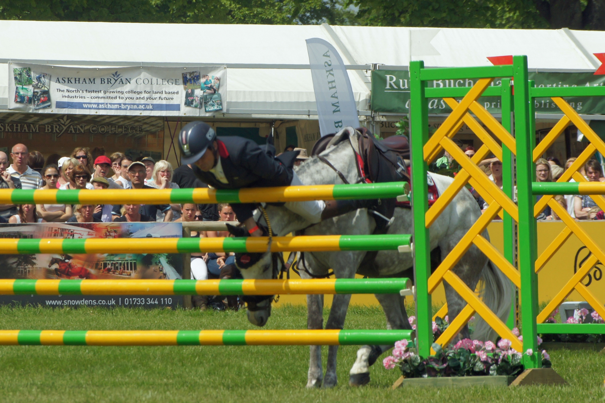 Bramham 2013, Thrills and Spills