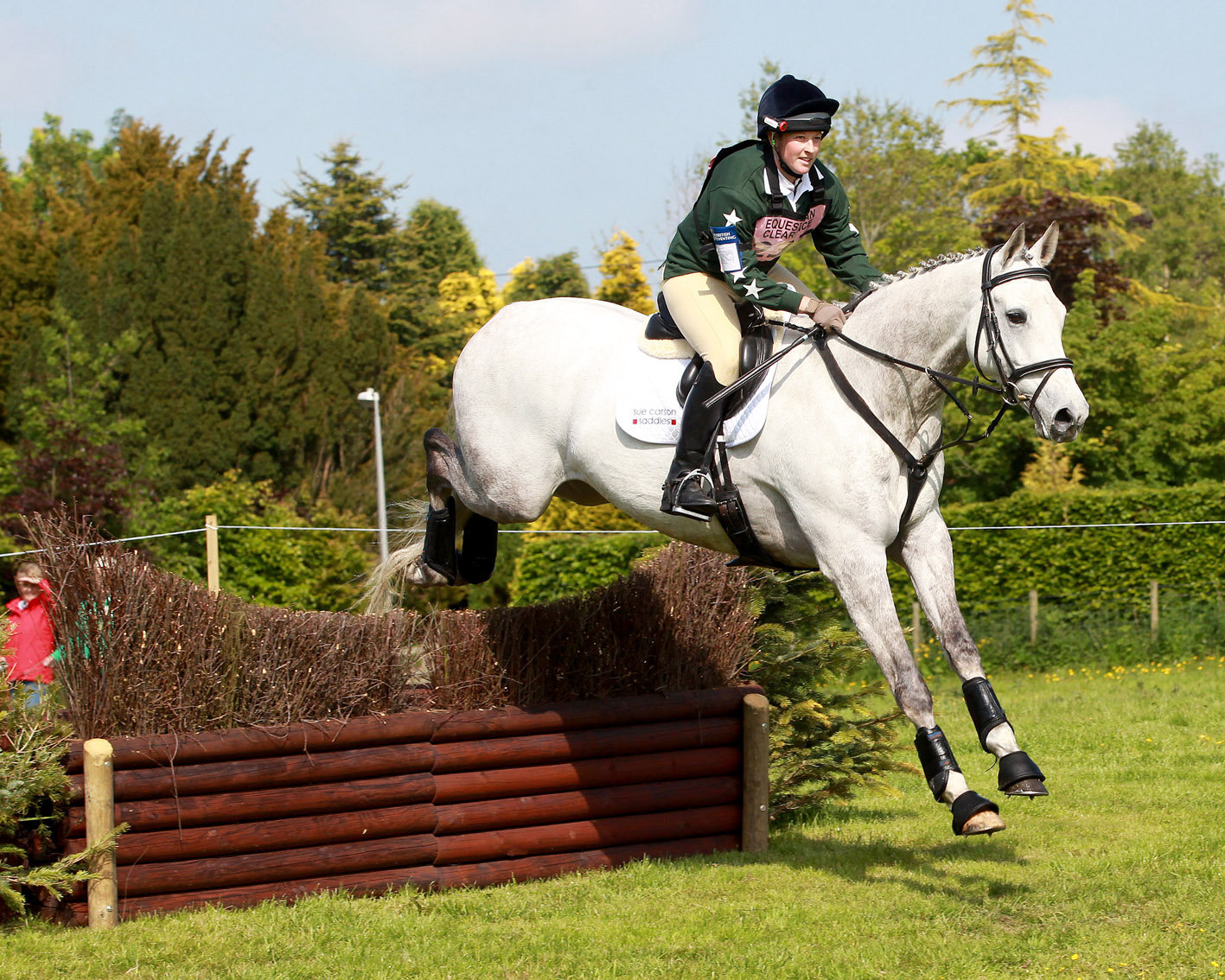 Successful Return to Eventing for Pam and Wesley