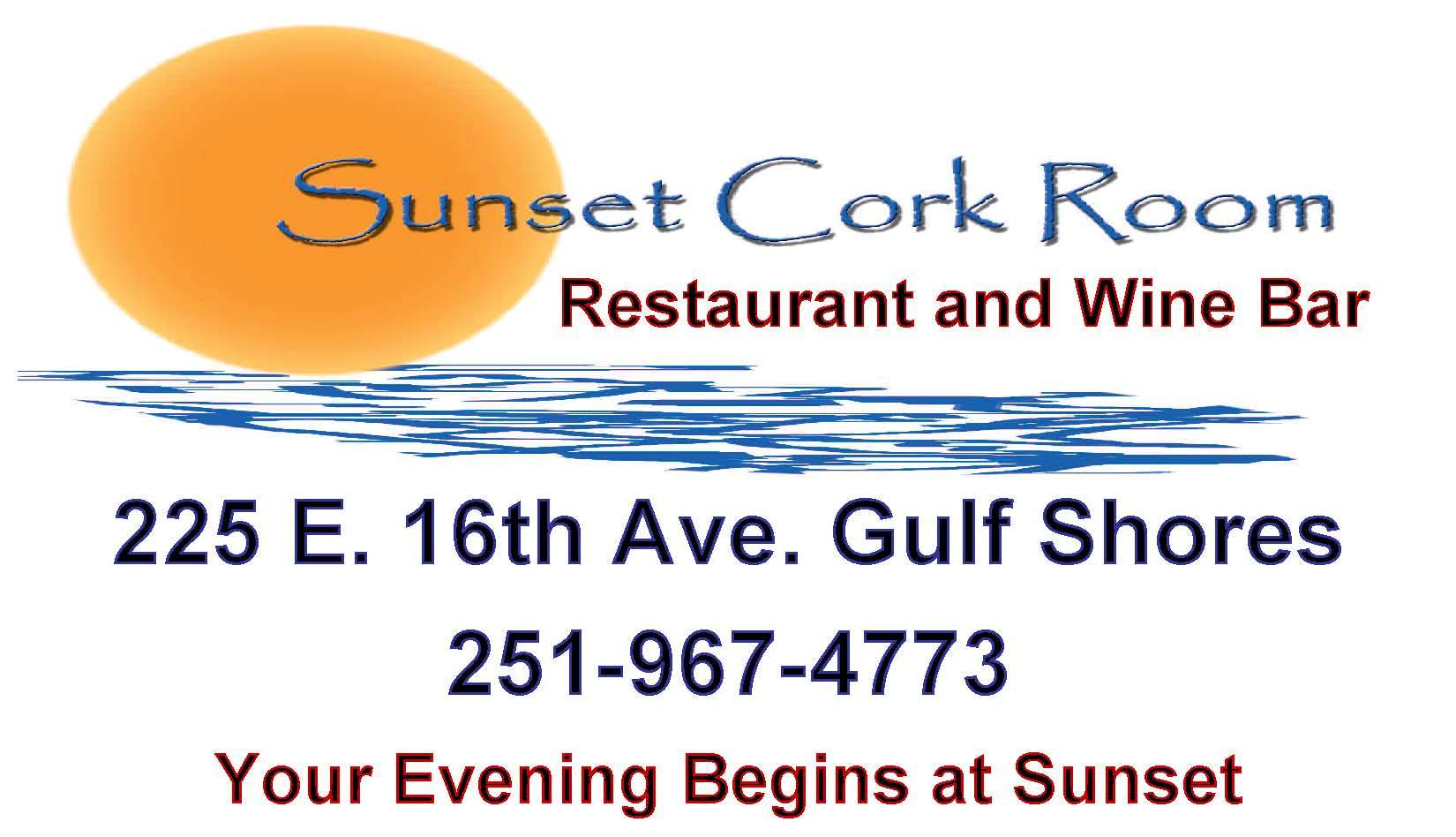 sunset cork room