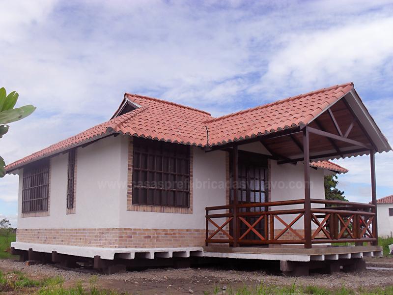 Casas y caba as prefabricadas villavicencio casas - Casas prefabricadas grandes ...
