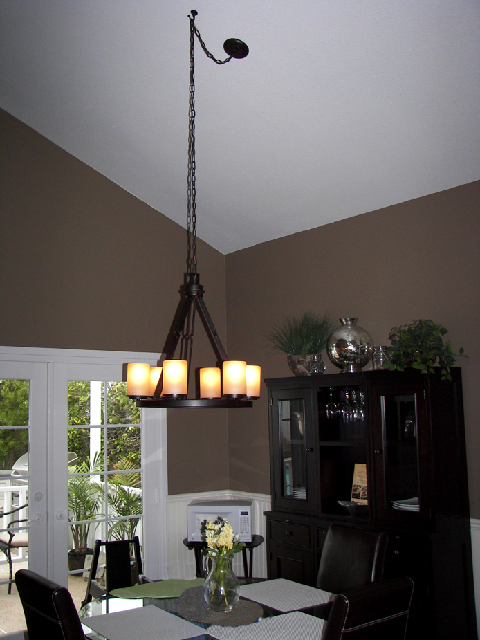 Dining Room lighting Baratelli Electric poway electrician
