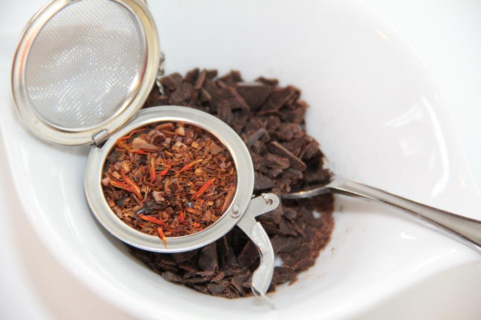 Spiced Mexican Chocolate Tea