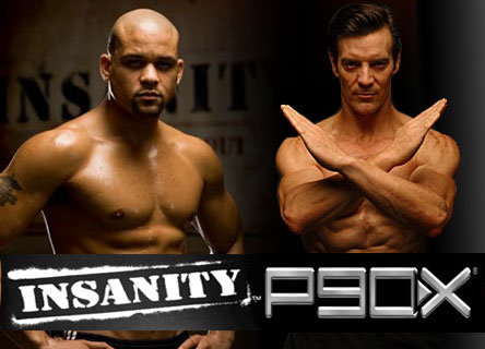 Shaun T and Tony Horton