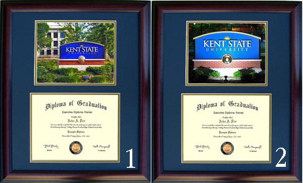 Executive Diploma Frames - All frames $99 - Kent State University
