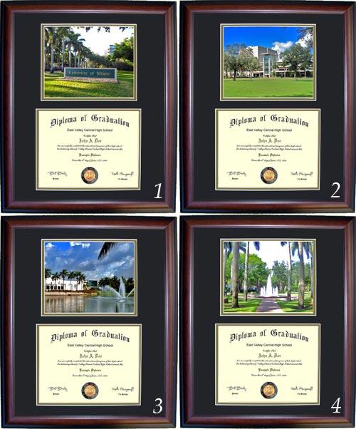 Executive Diploma Frames - All frames $99 - University of Miami