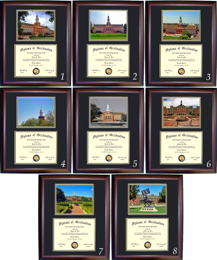 Executive Diploma Frames - All frames $99 - Oklahoma State University