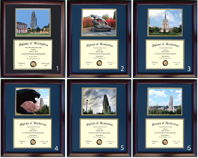 Executive Diploma Frames - All frames $99 - University of Pittsburgh ...