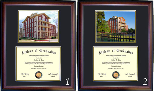 Executive Diploma Frames - All frames $99 - Shaw University