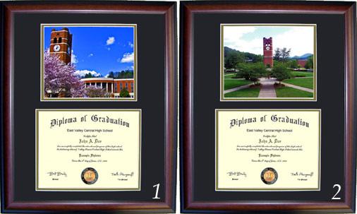 Executive Diploma Frames All Frames 99 Western Carolina University