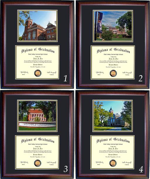 Executive Diploma Frames - All frames $99 - Winthrop University