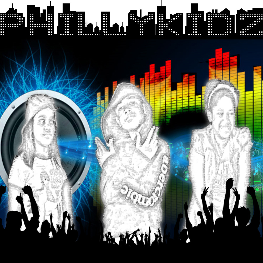 Hip Hop group Philly Kidz Album Cover