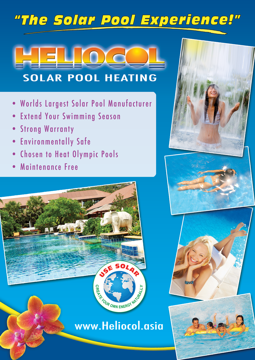 Heliocol commercial solar pool heating brochure