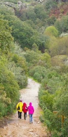 Ruta senderista de la Chorrera Horcajo