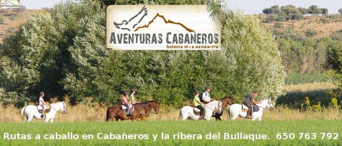 rutas a caballo en Cabañeros