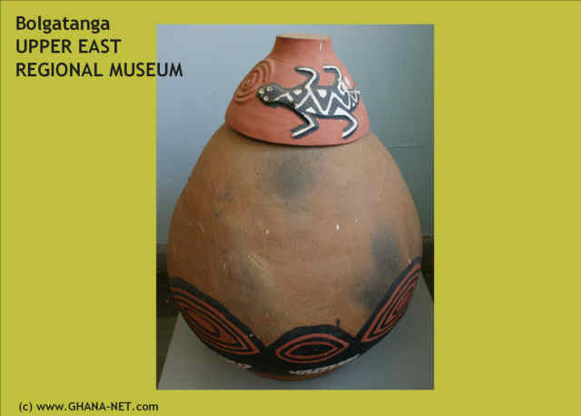 Pottery at the Upper East Regional Museum, Bolgatanga