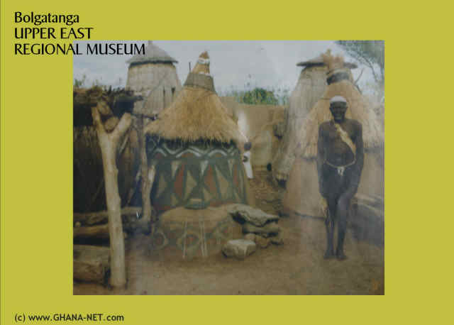 Exhibitions at Upper East Regional Museum, Bolgatanga
