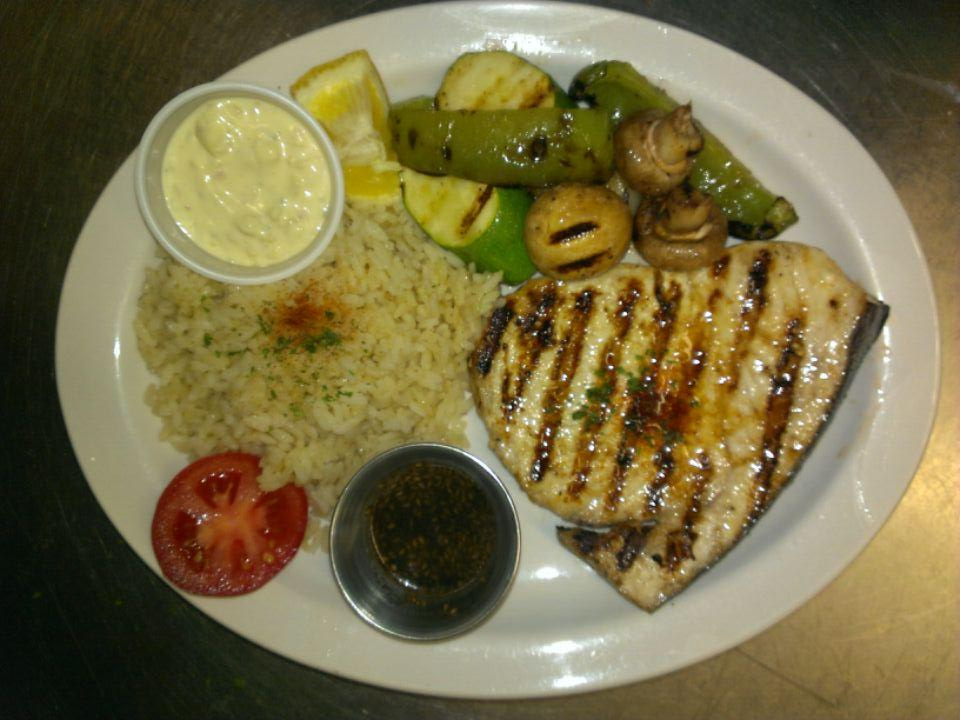 Charbroiled Seabass