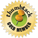 Thumbtack.com home theater review badge