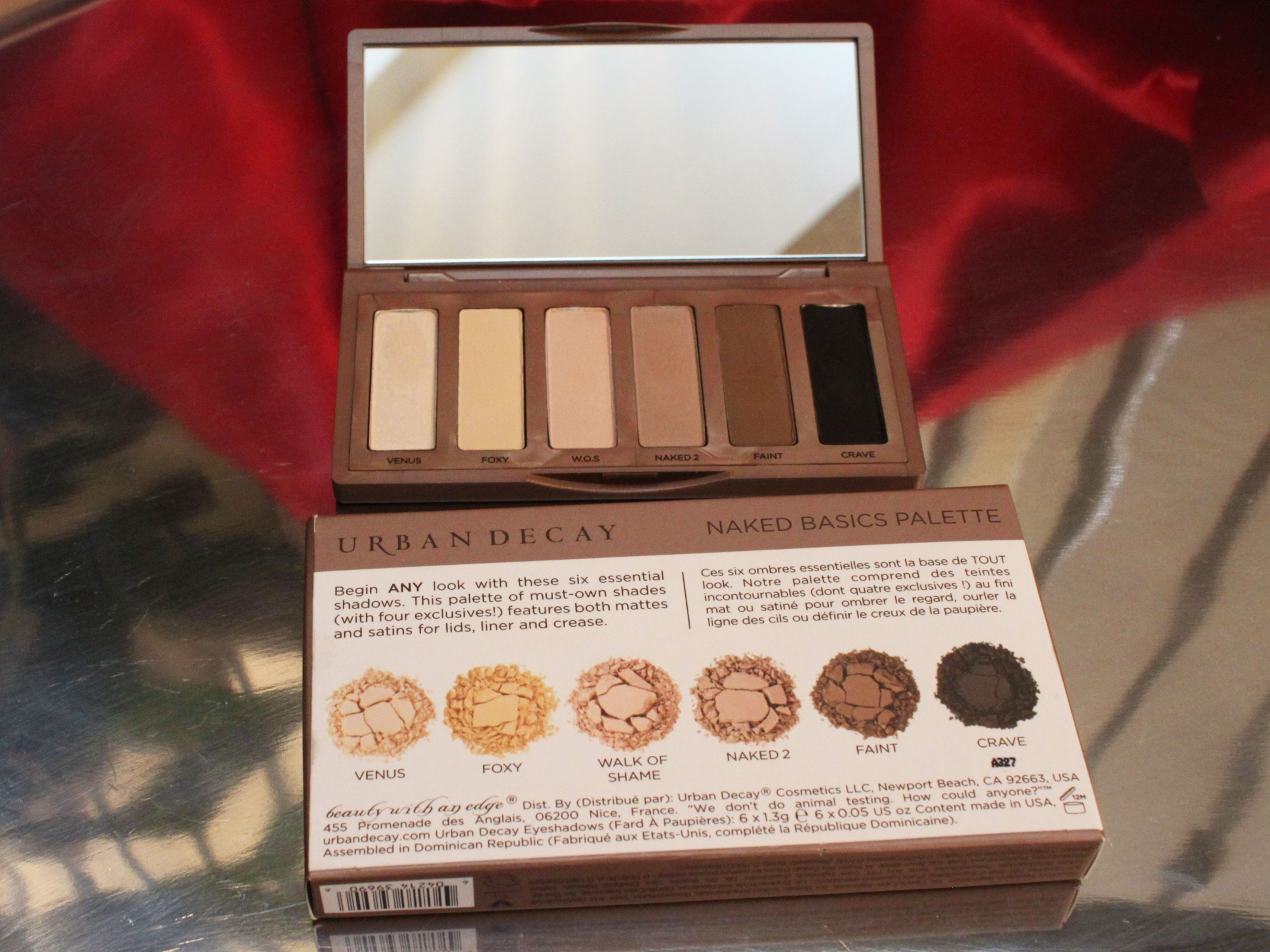 urban decay naked basic palette