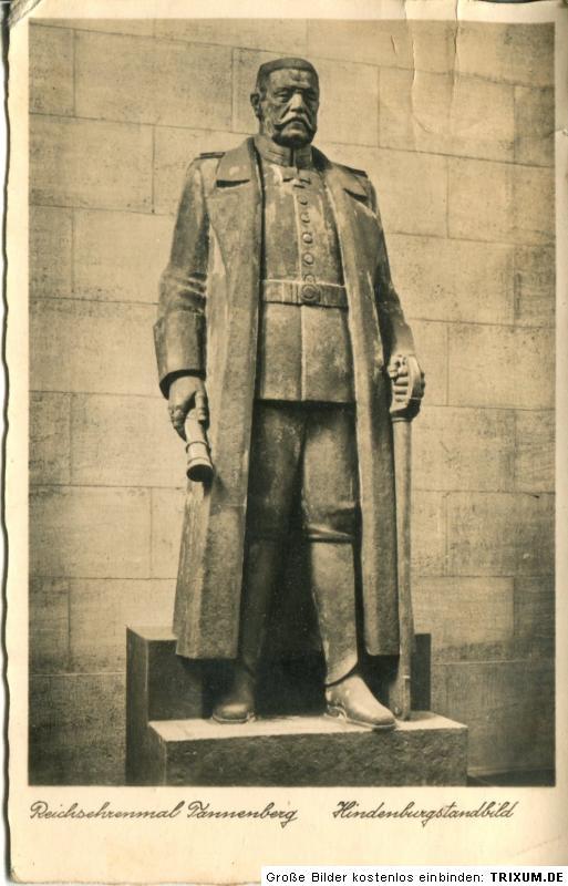 Tannenberg Denkmal - Hindenburg Gedenkstaette Ostpreussen