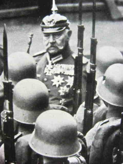 Hindenburg und die Die Deutsche Wehrmacht