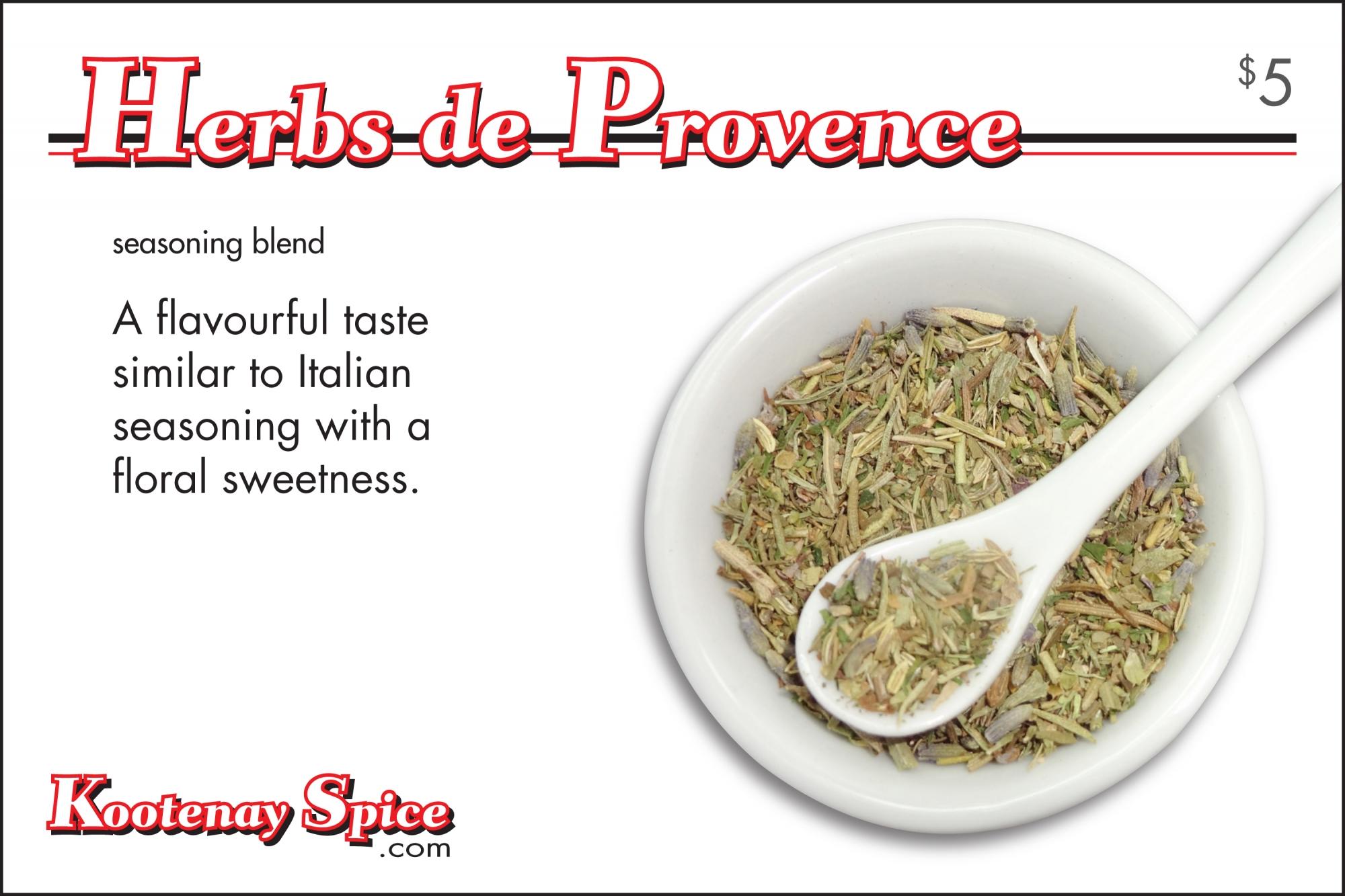Kootenay Spice Herbs de Provence