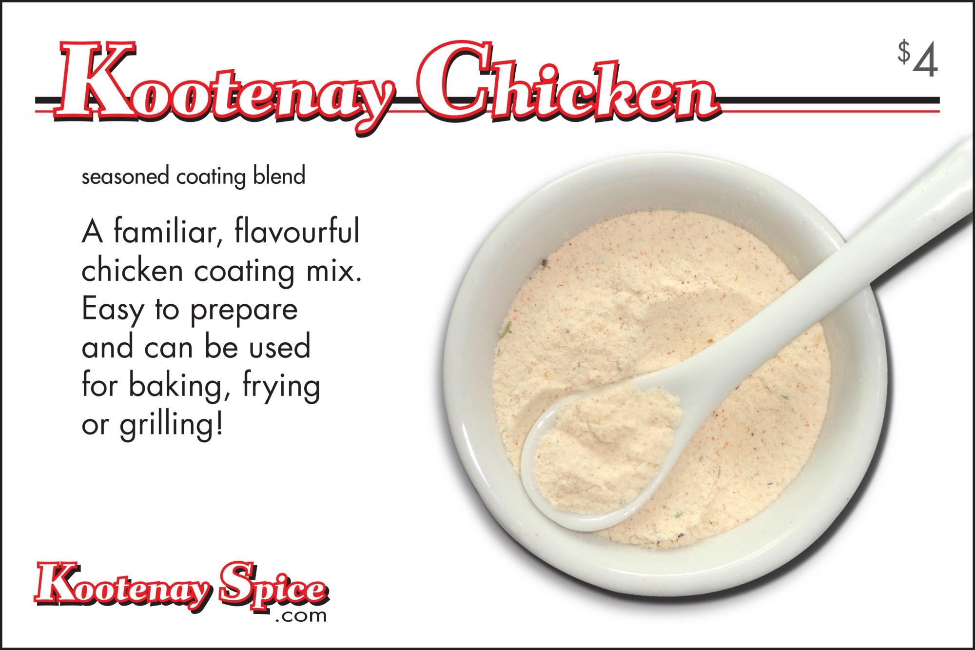 Kootenay Spice Kootenay Chicken