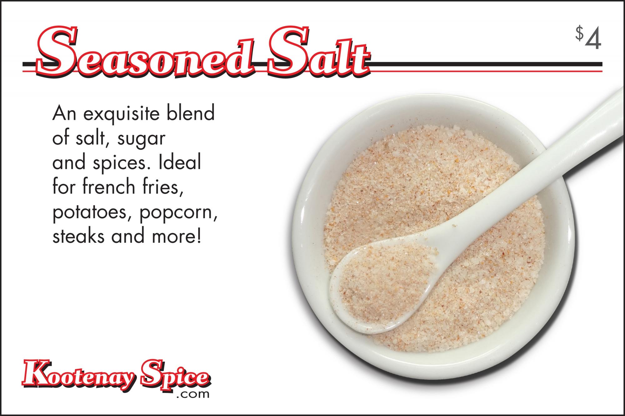 Kootenay Spice Seasoned Salt