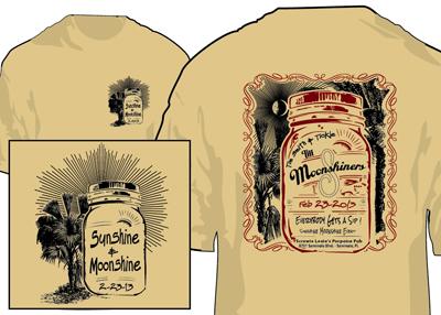 Sunshine Moonshine Event T-Shirt