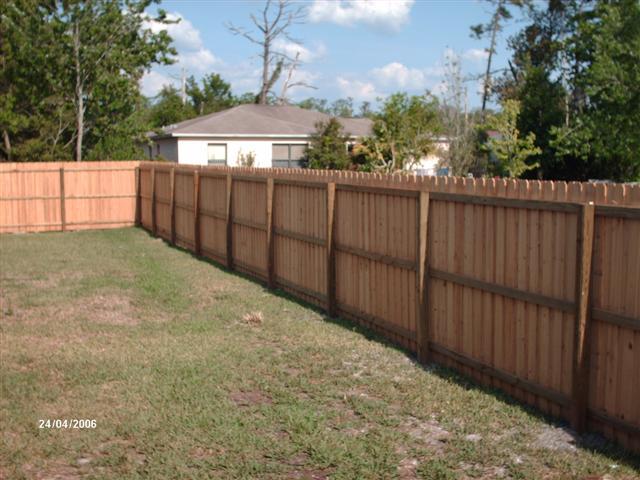 Wood Fence Avalon Park
