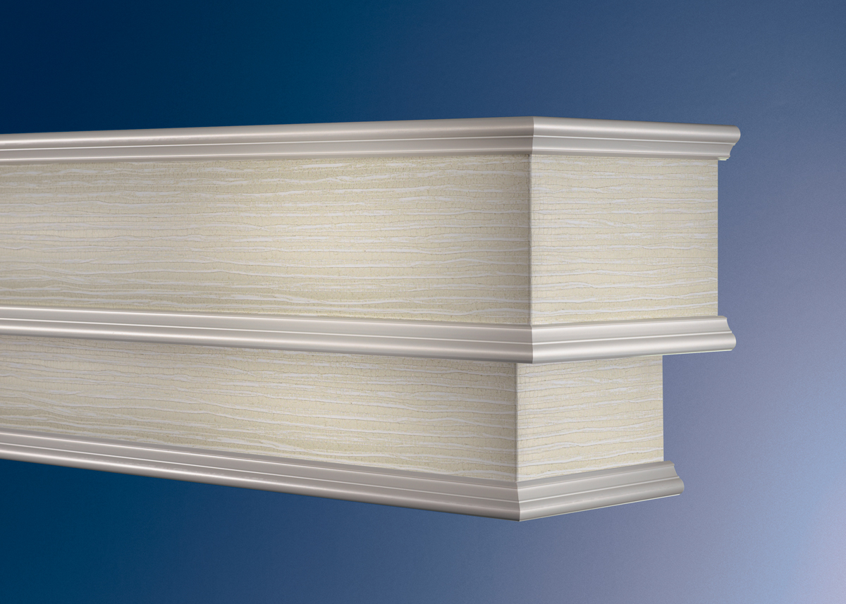 Cornice Valance Window Box Wood Fabric