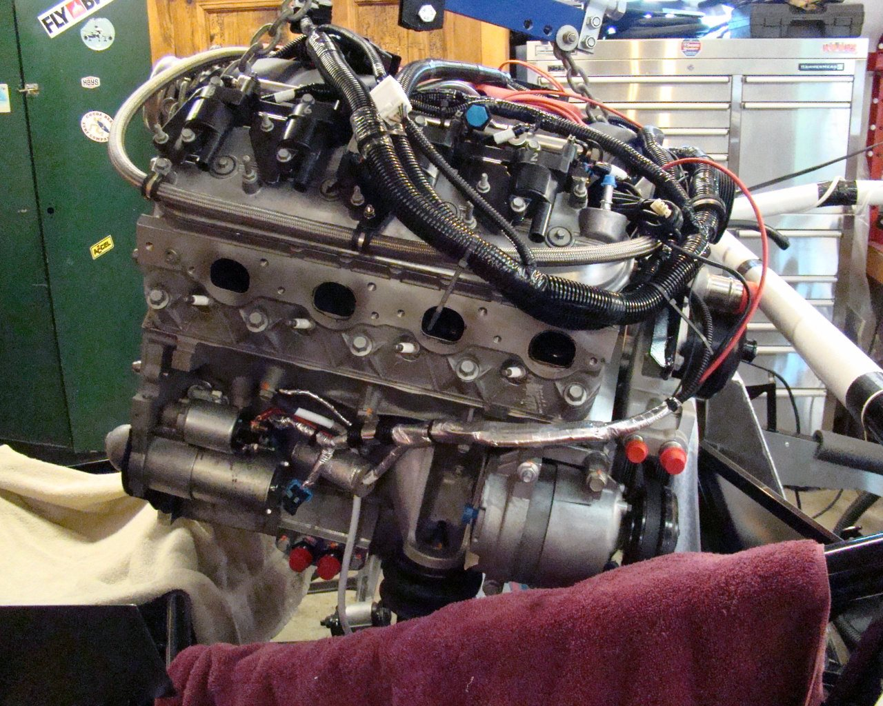 ENGINE DESCRIPTION AND MODS