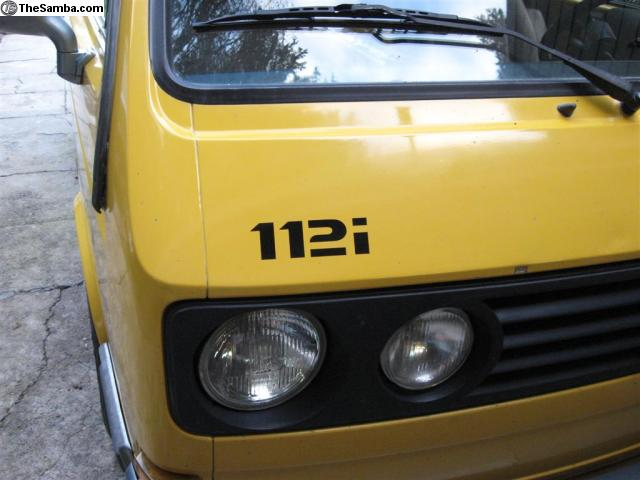 DJ 112 sticker