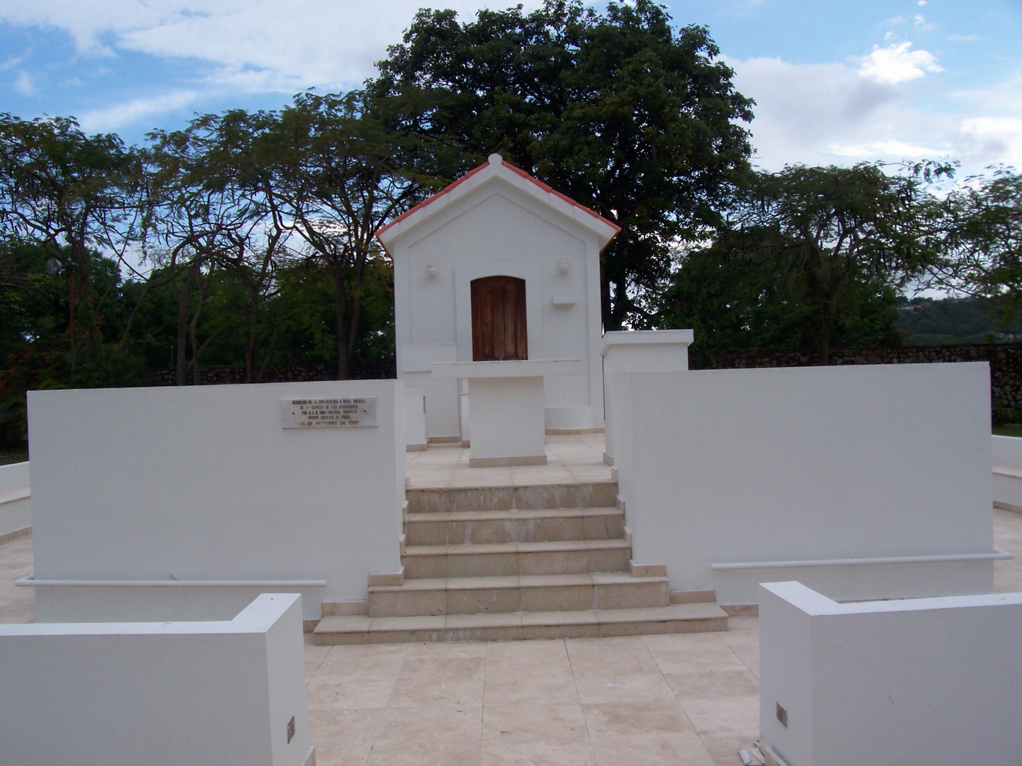 Réplica Capilla de Apariciones de Fátima