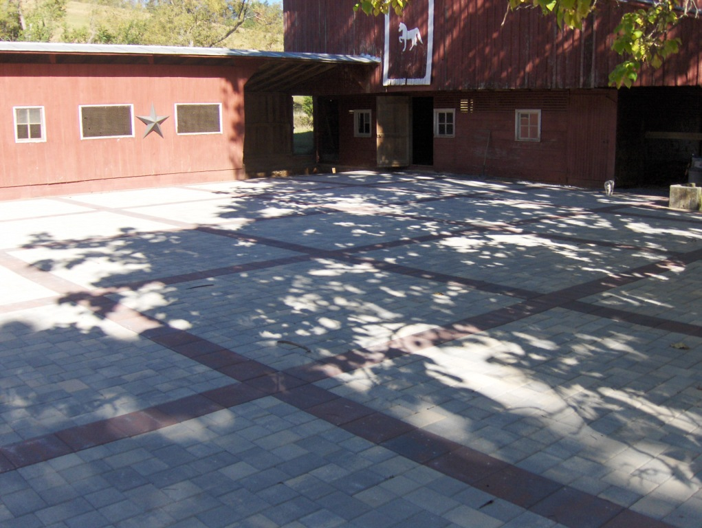 Paver Driveway and Parking area installation