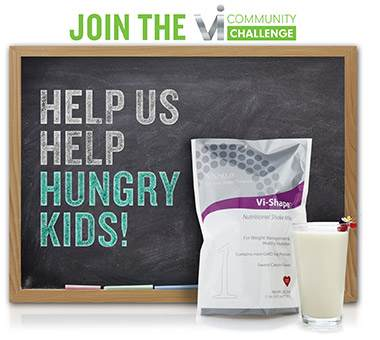 help feed children with visalus giving and team healthycovenant@myvi.net