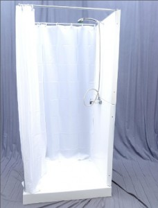 gallery for portable indoor shower