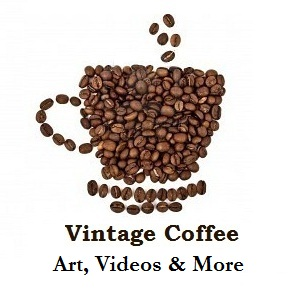 Vintage coffee ads