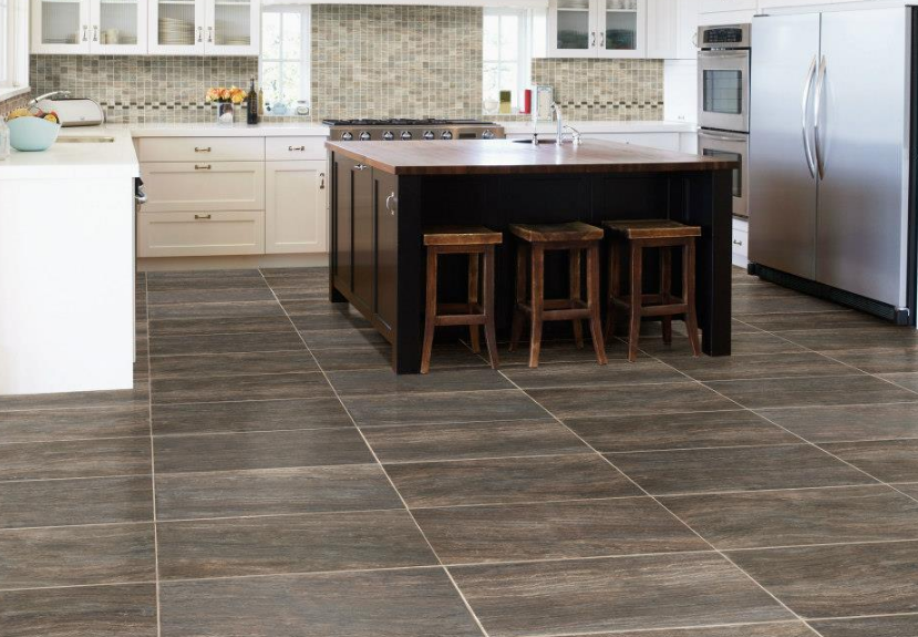 porcelain tile kitchen floor pictures. ivetta black slate